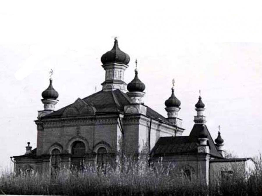 Church of the 55th Podolsk Infantry Regiment, photo of the end of the 19th century